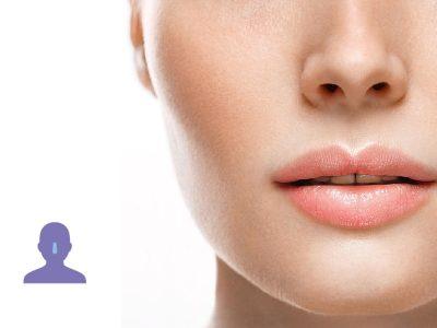 zona mini de la nariz