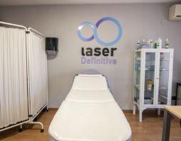 camilla para la realización de laser