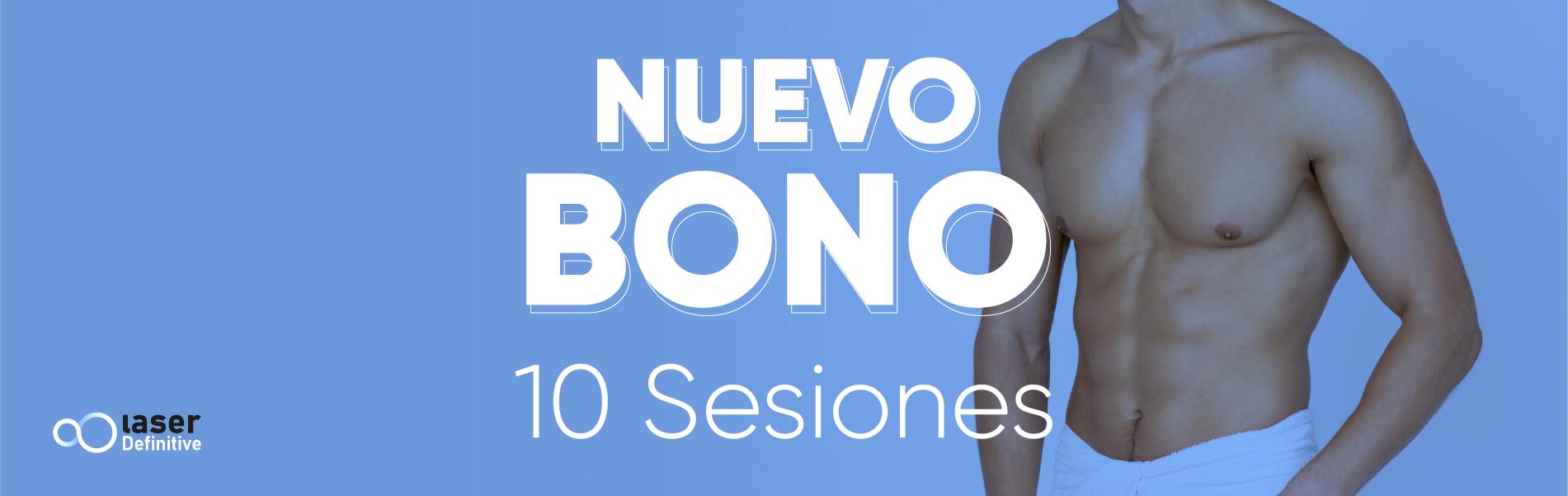 nuevo bono de 10 sesiones y torso de hombre